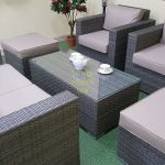 Фото-Мебель из ротанга Allegro natur&beige set 3