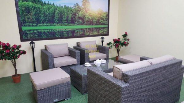 Фото-Allegro natur&beige set 3 Плетеная мебель