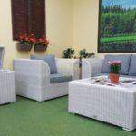Фото-Atlantic мебель плетеная