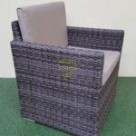 Фото-Infinity brown grey кресло ротанг