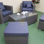 Фото-Комплект мебели из ротанга Allegro natur&grey bacony set