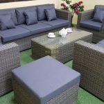 Фото-Мебель из ротанга Allegro natur&grey
