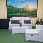 Фото-Pegas white мебель из искусственного ротанга