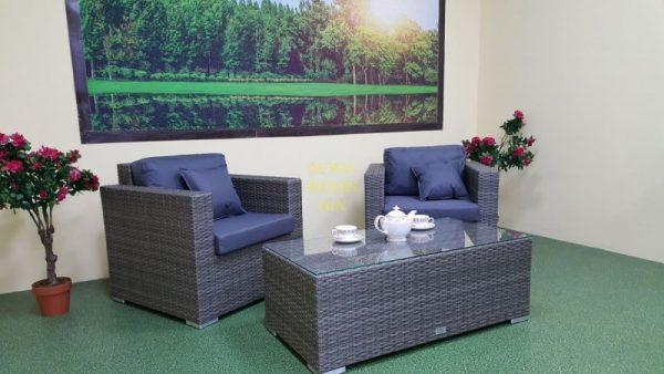 Фото-Плетеная мебель Allegro natur&grey cafe set