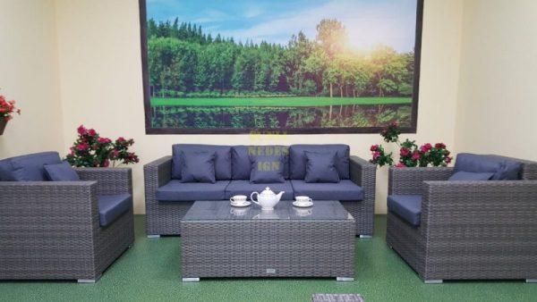Фото-Плетеная мебель Allegro natur&grey set 2