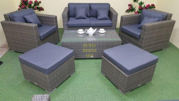 Фото-Плетеная мебель Allegro natur&grey set 4