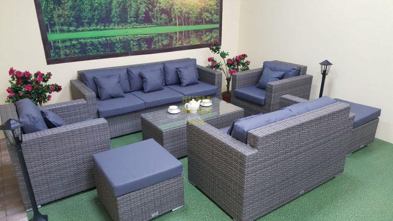 Фото-Плетеная мебель Allegro natur&grey
