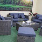 Фото-Плетеная мебель на террасу Allegro natur&grey set 4