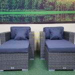 Фото-Ротанг мебель Allegro natur&grey relax