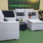 Фото-Pegas grey набор мебели из искусственного ротанга