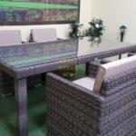 Фото-Infinity brown grey 4 Мебель из ротанга искусственного
