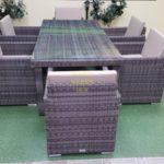 Фото-Infinity brown grey 6 Мебель садовая из ротанга