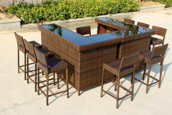 Фото-Плетеная мебель Lucky Bar