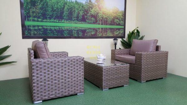 Фото-Плетеная мебель Cinzano beige cafe set