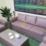 Фото-Cinzano beige лаунж мебель из ротанга