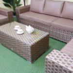 Фото-Cinzano beige мебель ротанг искусственный
