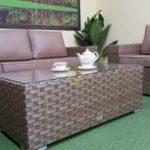 Фото-Cinzano beige ротанг мебель на террасу