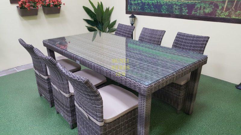 Фото-Плетеная мебель Infinity & Rose brown grey 6