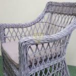 Фото-Кресло из искусственного ротанга Beatrix grey