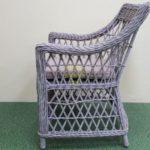 Фото-Кресло плетеное Beatrix grey