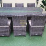 Фото-Rose brown grey Мебель из искусственного ротанга