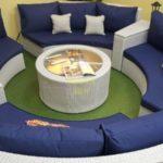 Фото-Andromeda white Лаунж мебель из искусственного ротанга