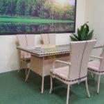 Aura beige 4 Плетеная мебель