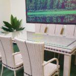 Aurora beige 6 Плетеная мебель Sunlinedesign