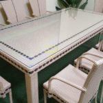 Фото-Aurora beige 8 Мебель из искусственного ротанга