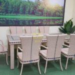 Фото-Aurora beige 8 Плетеная мебель