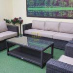 Louisiana brown Садовая мебель Sunlinedesign