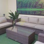 Фото-Adagio beige Мебель из искусственного ротанга