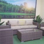 Adagio beige set 1 Мебель ротанг искусственный