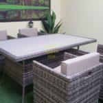 Фото-Concerto dining set 5 Комплект мебели ротанг