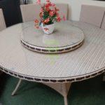 China beige Плетеная мебель столовая