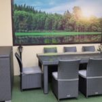 Комплект мебели из искусственного ротанга Louisiana grey dining