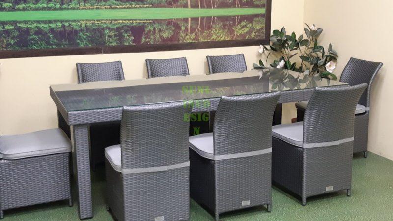 Фото-Плетеная мебель Louisiana grey dining