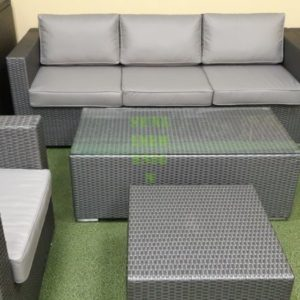 Плетеная мебель Louisiana grey set 1