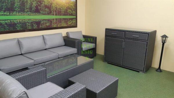 Фото-Плетеная мебель Louisiana grey set 2