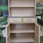 Aura шкаф из плетеного ротанга